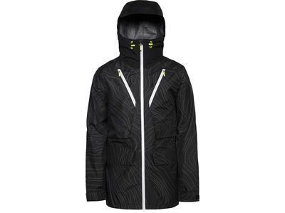WearColour Raven Jacket, black elevation - Skijacke
