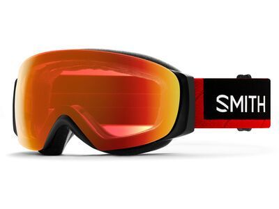 Smith I/O Mag S inkl. WS, north face red/Lens: cp everyday red mir - Skibrille