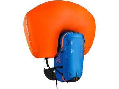 Ortovox Ascent 40 Avabag Kit, ohne Kartusche, safety blue - Lawinenrucksack