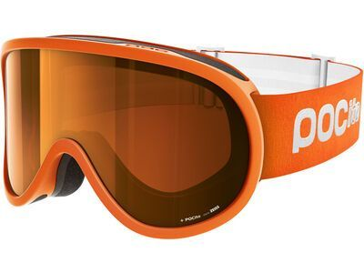 POC POCito Retina, fluo orange/Lens: spektris orange - Skibrille