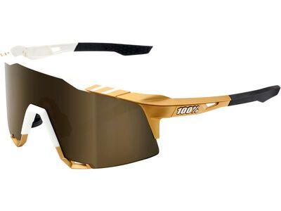 100% Speedcraft Tall Peter Sagan LTD – Gold Mirror weiß/gold