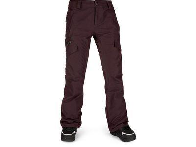 Volcom Aston Gore-Tex Pant, black red - Snowboardhose