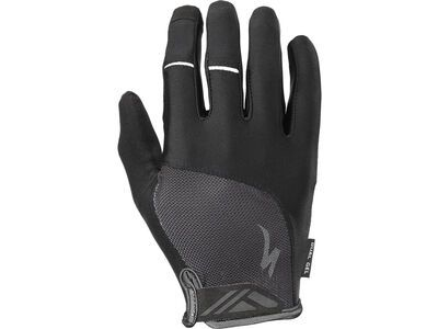 Specialized Body Geometry Dual-Gel Long Finger, black - Fahrradhandschuhe