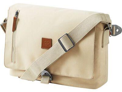 Creme Cycles Messenger Bag, creme beige
