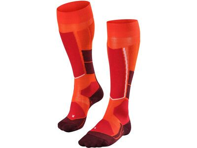 Falke ST4 Wool Damen Kniestrümpfe samba orange