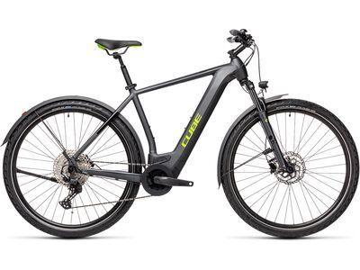Cube Cross Hybrid Pro Allroad 500 2021, iridium´n´green - E-Bike