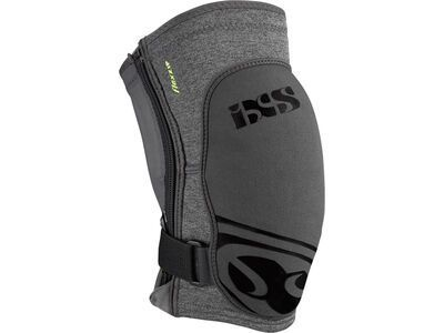 IXS Flow ZIP Knee Guard, grey - Knieschützer