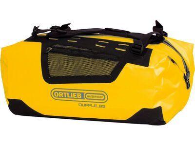 Ortlieb Duffle 85 L, sunyellow-black - Reisetasche