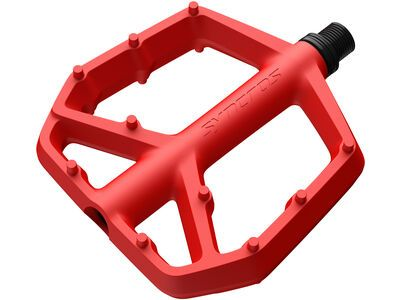 Syncros Squamish III Flat Pedals - Large florida red