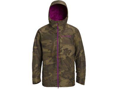 Burton Gore-Tex Radial Insulated Jacket, worn camo - Snowboardjacke