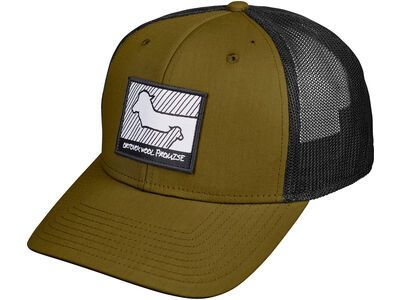 Ortovox Wool Promise Trucker Cap green moss