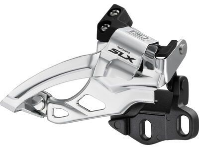 Shimano SLX FD-M675 2x10 Top Swing - E-Type ohne Halteblech