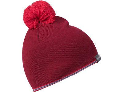 Bergans Retro Beanie, burgundy/red - Mütze