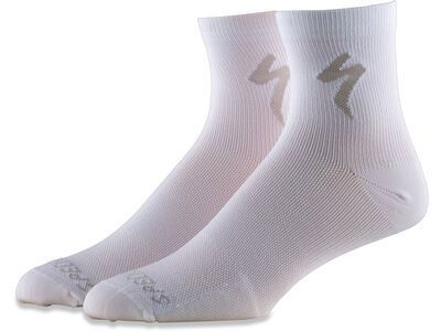 Specialized Soft Air Road Mid Sock, white - Radsocken