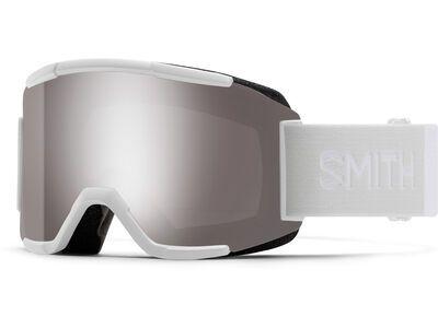 Smith Squad inkl. WS, white vapor/Lens: cp sun platinum mir - Skibrille