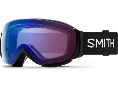 Smith I/O Mag S inkl. WS, black/Lens: cp everyday photochromic rose flash - Skibrille