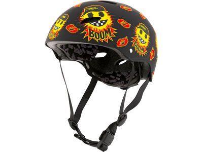 ONeal Dirt Lid Youth Helmet Emoji black/yellow