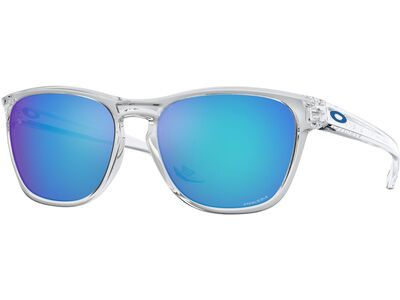 Oakley Manorburn Prizm Sapphire polished clear