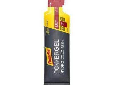 PowerBar PowerGel Hydro - Cherry (mit Koffein) - Energie Gel