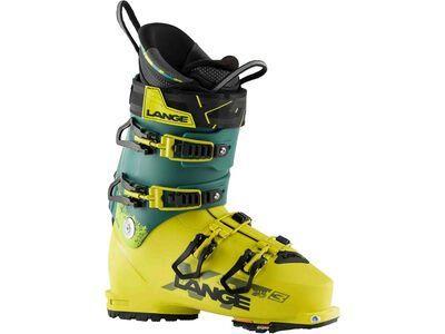 Lange XT3 110 2021, yellow/green - Skiboots