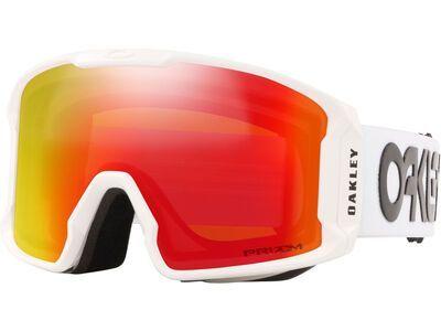 Oakley Line Miner XL Prizm Factory Pilot, white/Lens: torch iridium - Skibrille