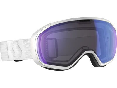 Scott Fix, white/Lens: illum blue chr - Skibrille