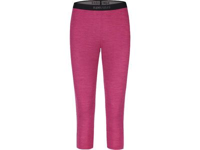 SuperNatural W Base 3/4 Tight 175, loganberry melange - Unterhose