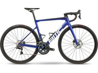 BMC Teammachine SLR01 Four 2021, blue & carbon - Rennrad