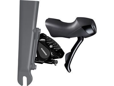 Shimano Road ST-RS505/BR-RS505 Scheibenbremse - VR, 2x