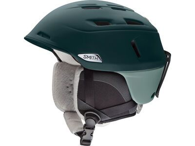 Smith Compass, matte deep forest/saltwater - Snowboardhelm
