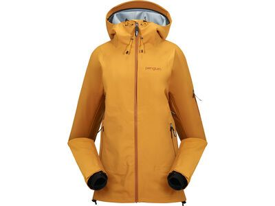 Penguin Frauen 3 Lagen Dermizax Shell Jacke curry gold