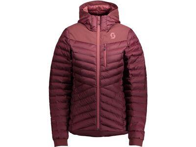 Scott Insuloft Warm Women's Jacket amaranth red