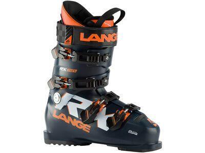 Lange RX 120 2021, black blue/orange - Skiboots