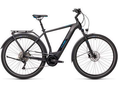 Cube Kathmandu Hybrid Pro 625 2021, black´n´blue - E-Bike
