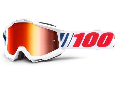 100% Accuri, af066/Lens: mir red - MX Brille