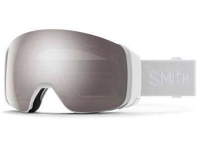 Smith 4D Mag inkl. WS, white vapor/Lens: cp sun platinum mir - Skibrille