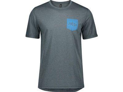 Scott Trail Flow Dri S/Sl Men's Shirt, nightfall blue - Radtrikot
