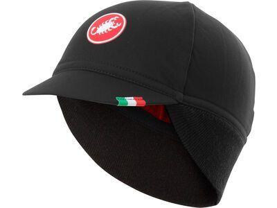 Castelli Difesa Thermal Cap black/red