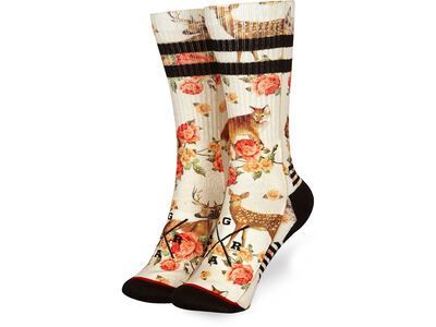 Loose Riders Technical Socks Forest Animals multi color