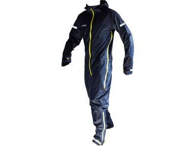 dirtlej CommuteSuit Road Edition, navyblau/lime - Rad Einteiler