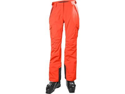 Helly Hansen W Switch Cargo 2.0 Pant, neon coral - Skihose