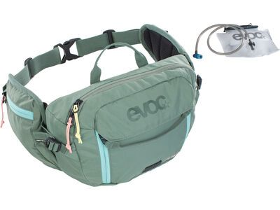 Evoc Hip Pack 3l + Hydration Bladder 1,5l olive