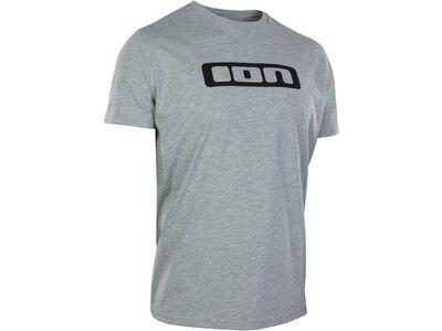 ION Tee SS Logo, grey melange
