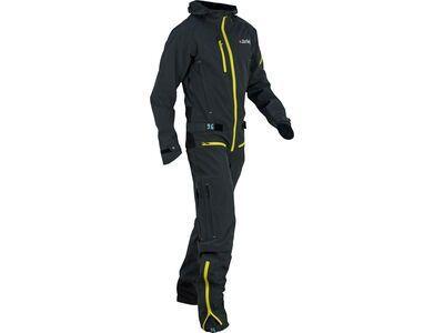 dirtlej DirtSuit Core Edition, grau / gelb - Rad Einteiler
