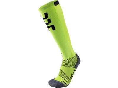UYN Evo Race Ski Socks green lime/black