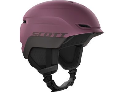 Scott Chase 2 Plus Helmet, cassis pink/red fudge - Skihelm