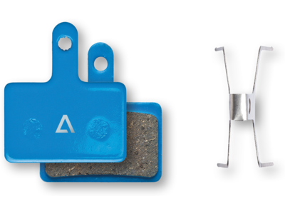 Cube Acid Scheibenbremsbelag Shimano Deore BR-M505/515/525/445/446 MT200/400 - organisch blue