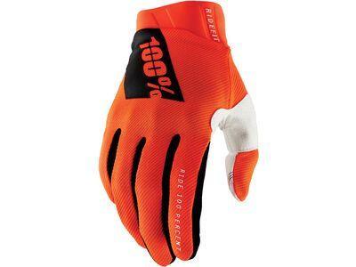 100% Ridefit Glove fluo orange