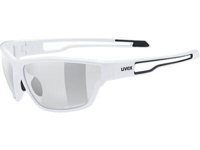 uvex sportstyle 806 v Variomatic Smoke white