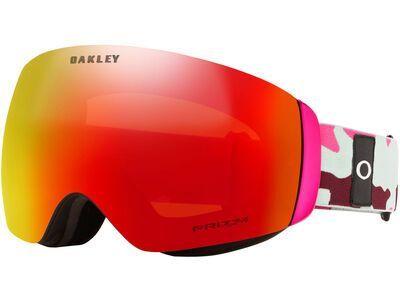 Oakley Flight Deck XM Prizm, jasmine grenache camo/Lens: hi pink iridium - Skibrille